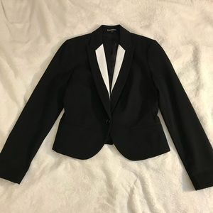 Express slightly cropped blazer jacket EUC 10